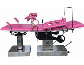 Manual obstetric table
