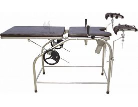 Manual gynecology table