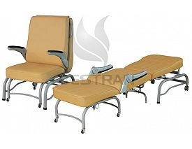 Luxurios Hospital Attendant Chair