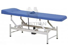 hydraulic examination bed