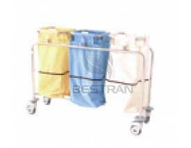 Dirty clothes trolley