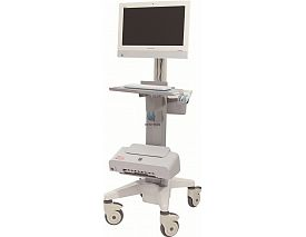 Luxurious Doctor workstation nursing computer trolley