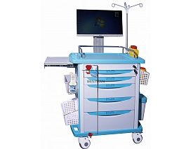 Luxurious All-in-one Wireless Nursing Computer Trolley