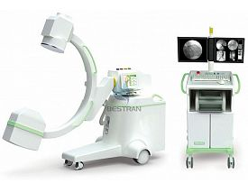 High Frequency Mobile X-ray C-arm System