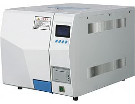 Vacuum system steam sterilizer