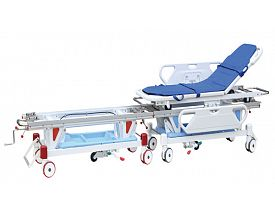 Operating room collecting stretcher