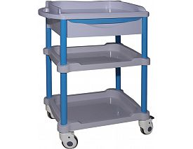 Hospital drugs trolley